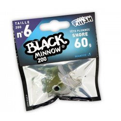 Black Minnow 200 Cabeza Shore 60g Kaki/silver